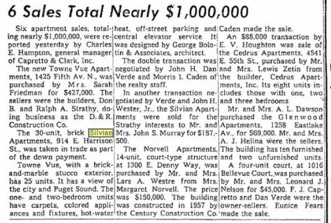 A TIMES Clip from March 6, 1960.   CLICK to ENLARGE