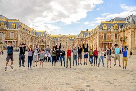 Hillside at Versailles!