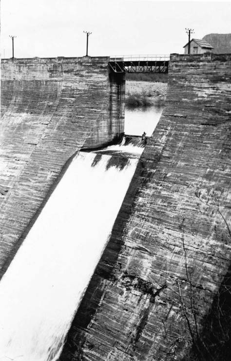The Masonry Dam from the 'other' side.