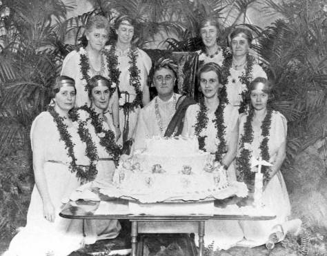 FDR's Toga Party for the New Deal.