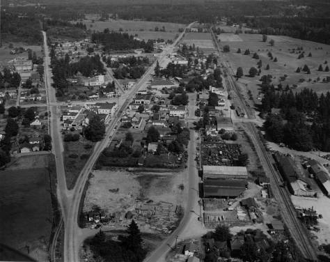 Redmond, 1950 - looking east.