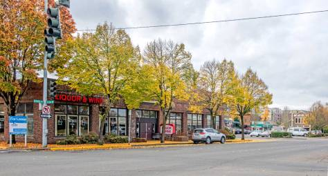 """NOW: Redmond's brick landmark that began as its mayor's auto repair garage has been used through its first ninety-five years variously as a furniture store, a sports store, and more recently a liquor store. In his 1998 historylink history of this now 'high technology town,' historian Alan J. Stein concludes, """"Chances are, if you own or use a computer anywhere in the world, you've heard of Redmond."""" Microsoft began developing its Redmond campus in 1985."""