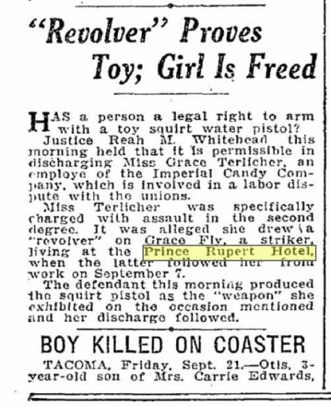 A Times clip from Sept. 21, 1917.