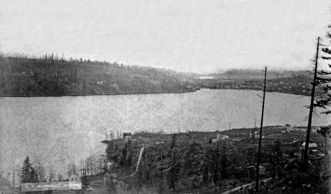 Not so revealing but still another early Lake Union by McKnight. For this shot he moved a block or so to the north.