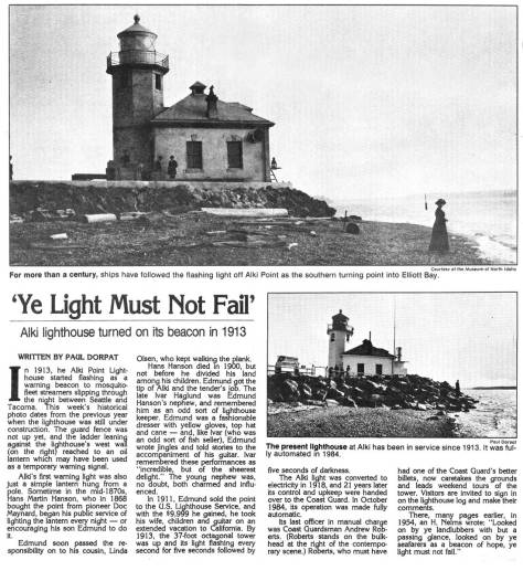 First appeared in Pacific, May 19, 1985,