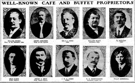 By the time this tribute was published in The Times on Feb. 25, 1906, the brothers-in-law immigrants from Germany were well known hosts for food, spirits and bowling too.