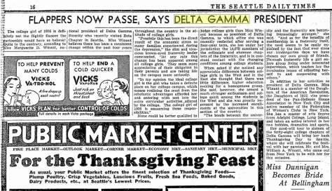 Pulled from The Seattle Times for November 23, 1936.