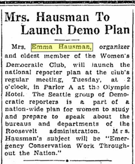A Times clipping from March 3, 1935.