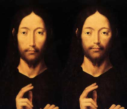 Christ's Nose - early and late Gothic examples