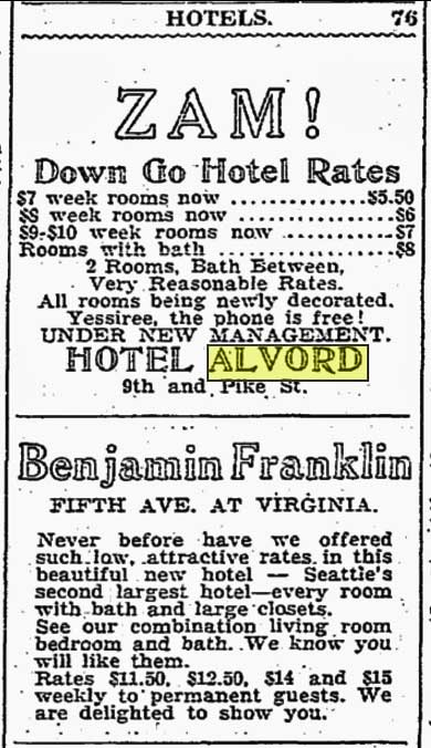 From The Times classifieds for Feb. 21, 1931.