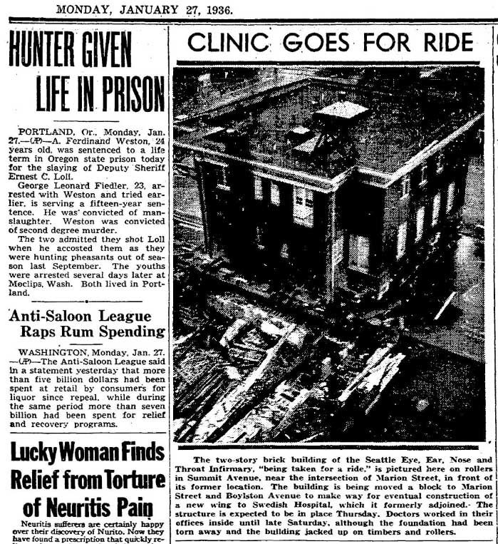 Seattle Now  Then Swedish Hospital, 1929  Dorpatsherrardlomont-3383