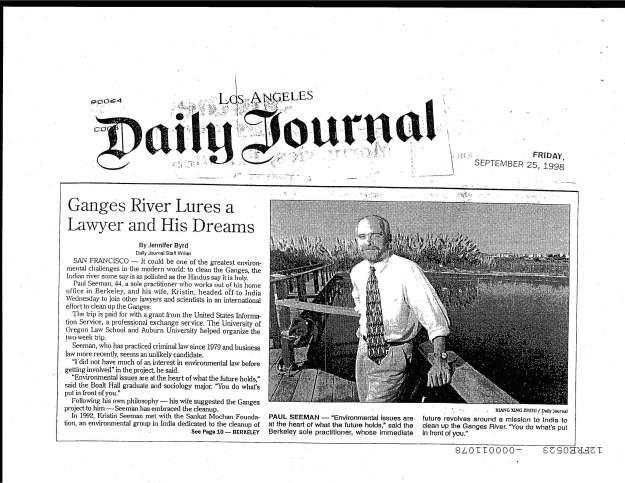 Newspaper Article 1998