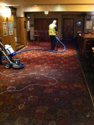 Pub Carpet Deep Cleaning