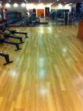 Gym Floor After