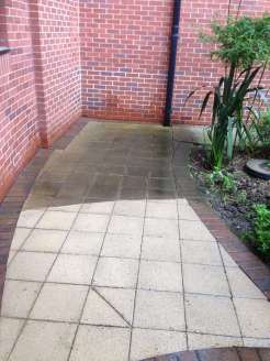 Pressure Washing Path