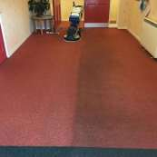 Commercial low moister carpet cleaning