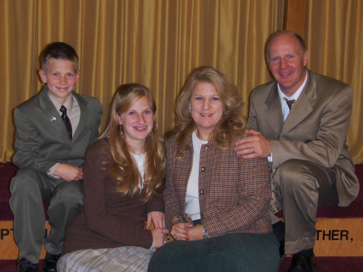 Bro. Mike Dinges and Family