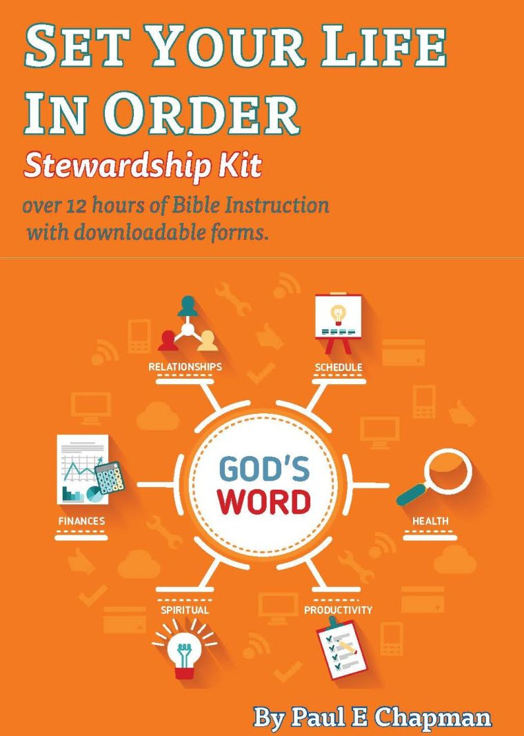 Bible Study Guides - Stewardship as a Talent - Steps to Life