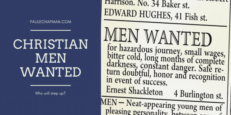 Christian Men Wanted ministry