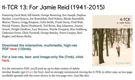 ti-TCR 13 For Jamie Reid