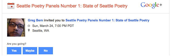 The State of Seattle Poetry