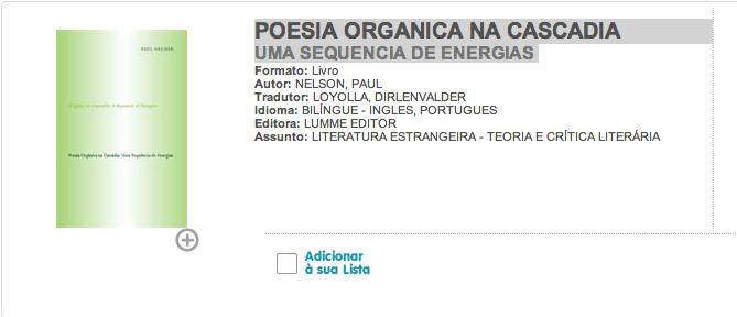 Poesia Organica Website