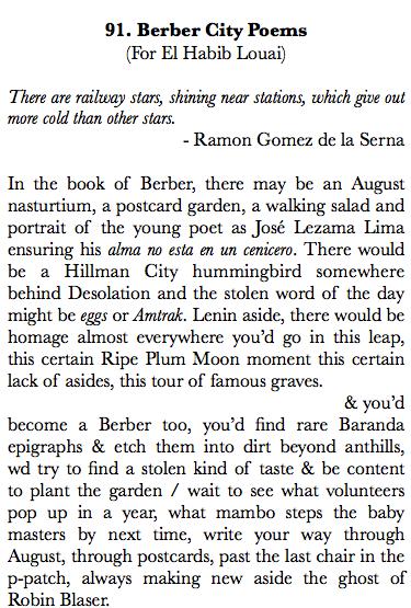 91. Berber City Poems 1
