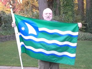David McCloskey & HIS version of the Cascadia Flag