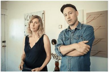 Juliana Spahr and David Buuck (Photo: Andrew Kenower)