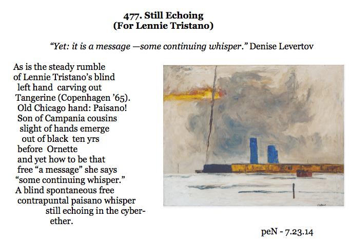 477. Still Echoing (For Lennie Tristano)