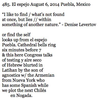 485. El Espejo (poem)