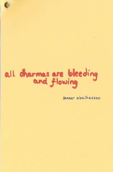 Samar All Dharms Are Bleeding