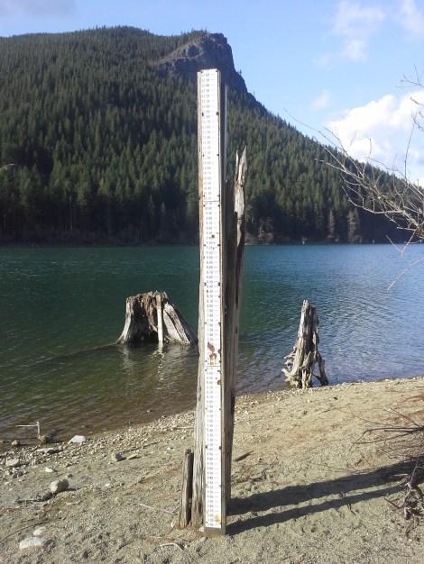 Measuring Stick at Rattlesnake Lake and Rattlesnake Ridge