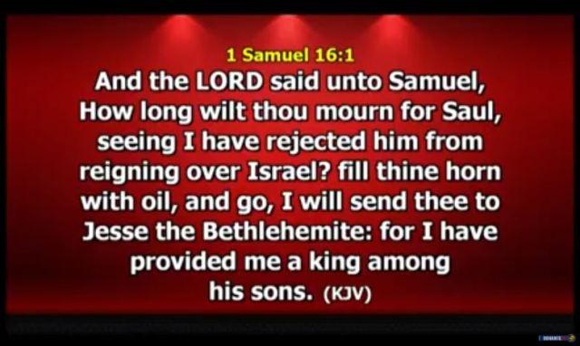 1 Samuel 16 verse 1 Dunamis Church
