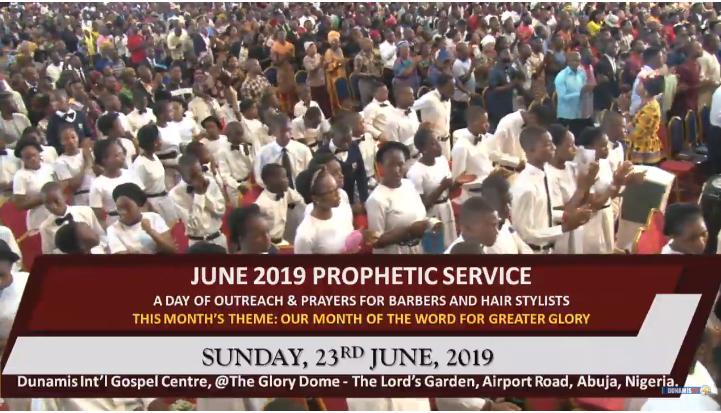 PROPHETIC SERVICE 23rd June 2019 With Dr Pastor Paul Enenche - Paul