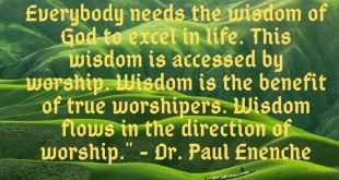 Dr. Paul Eneche Quotes - Compilation