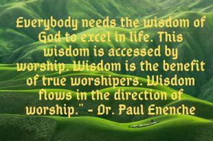 Dr. Paul Eneche Quotes - Compilation