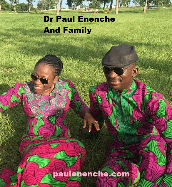Dr Paul Enenche And Family