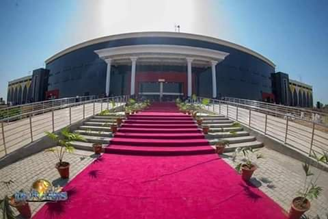 glory dome building Abuja