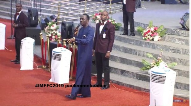 #IMFFC2019 Day 2 - Healing and Deliverance Service
