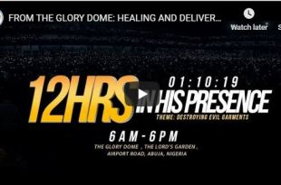 12 hours in his presence paul enenche
