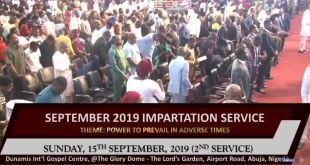 Pastor Paul Enenche Sermon SEPTEMBER 2019 IMPARTATION SUNDAY