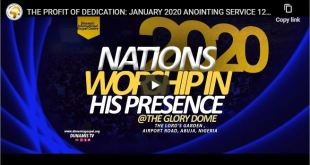 2020 NATIONS' WORSHIP 31-01-2020