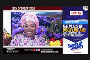 Dr Becky Paul-Enenche - SEEDS OF DESTINY - MONDAY OCTOBER 12, 2020