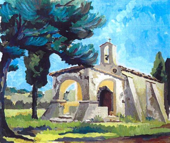 Chapelle Ste Anne Saint Tropez - 83