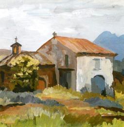 Chapelle entrée de Roquebrune sur Argens - 83