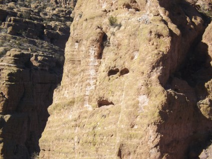 Mummy rock on Apache Trail, Arizona