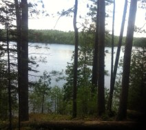 Nature Hike in Bon Echo Shield Trail