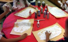 Step 3 Spreading shaving cream