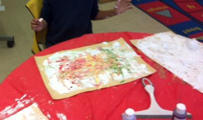 Step 5 mix colours